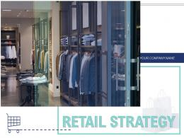 Retail Strategy Product Resource Allocation Opportunities Resources Evaluate Performance