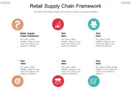 Retail Supply Chain Framework Ppt Powerpoint Presentation File Outline Cpb