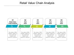 Retail Value Chain Analysis Ppt Powerpoint Presentation Portfolio Clipart Cpb