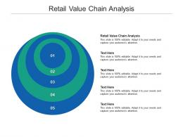 Retail Value Chain Analysis Ppt Powerpoint Presentation Show Layout Cpb