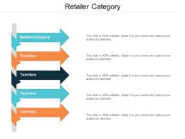 Retailer Category Ppt Powerpoint Presentation File Gridlines Cpb