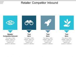 Retailer Competitor Inbound Ppt Powerpoint Presentation Styles Graphics Cpb