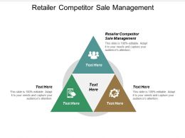 Retailer Competitor Sale Management Ppt Powerpoint Presentation Gallery Icon Cpb