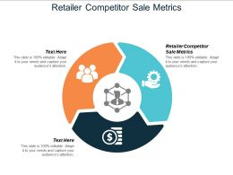 Retailer Competitor Sale Metrics Ppt Powerpoint Presentation Icon Format Ideas Cpb