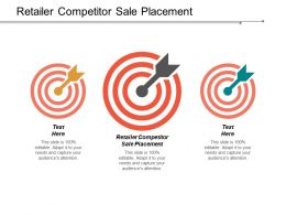 Retailer Competitor Sale Placement Ppt Powerpoint Presentation Inspiration Ideas Cpb