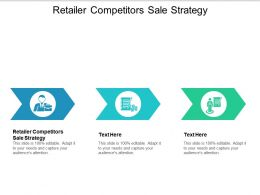 Retailer Competitors Sale Strategy Ppt Powerpoint Presentation Professional Model Cpb