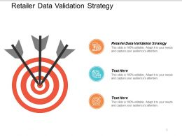 Retailer Data Validation Strategy Ppt Powerpoint Presentation Summary Visuals Cpb