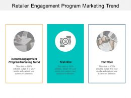 Retailer Engagement Program Marketing Trend Ppt Powerpoint Presentation Outline Inspiration Cpb