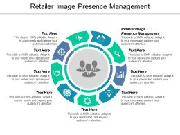 Retailer Image Presence Management Ppt Powerpoint Presentation Ideas Portfolio Cpb