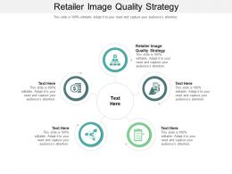Retailer Image Quality Strategy Ppt Powerpoint Presentation Slides Background Designs Cpb