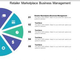 Retailer Marketplace Business Management Ppt Powerpoint Presentation Slide Cpb