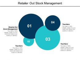 Retailer Out Stock Management Ppt Powerpoint Presentation Model Deck Cpb