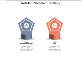 Retailer Placement Strategy Ppt Powerpoint Presentation Slides Show Cpb