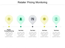 Retailer Pricing Monitoring Ppt Powerpoint Presentation Infographics Influencers Cpb