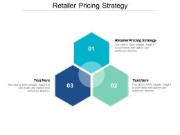 Retailer Pricing Strategy Ppt Powerpoint Presentation Icon Deck Cpb