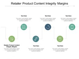 Retailer Product Content Integrity Margins Ppt Powerpoint Presentation Ideas Layout Cpb