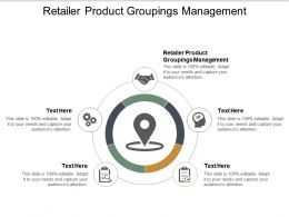Retailer Product Groupings Management Ppt Powerpoint Presentation Format Cpb