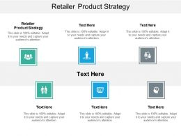 Retailer Product Strategy Ppt Powerpoint Presentation Styles Samples Cpb