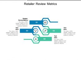 Retailer Review Metrics Ppt Powerpoint Presentation Infographic Template Mockup Cpb