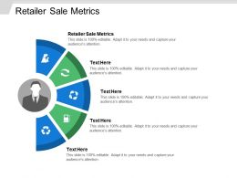 Retailer Sale Metrics Ppt Powerpoint Presentation File Example Cpb