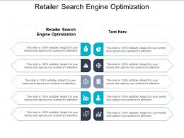 Retailer Search Engine Optimization Ppt Powerpoint Presentation Gallery Background Cpb