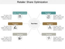 Retailer Share Optimization Ppt Powerpoint Presentation File Master Slide Cpb