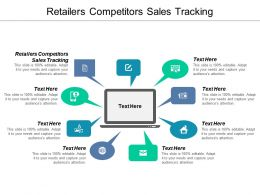 Retailers Competitors Sales Tracking Ppt Powerpoint Presentation Icon Clipart Cpb
