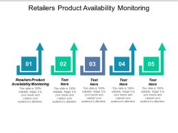 Retailers Product Availability Monitoring Ppt Powerpoint Presentation Icon Designs Cpb