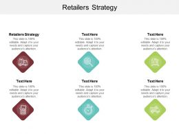 Retailers Strategy Ppt Powerpoint Presentation Inspiration Background Image Cpb