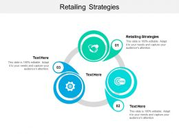 Retailing Strategies Ppt Powerpoint Presentation Infographics Format Ideas Cpb
