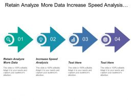 Retain Analyze More Data Increase Speed Analysis Reduce Eliminate