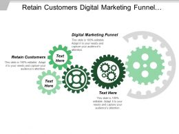 Retain Customers Digital Marketing Funnel Customer Engagement Strategy