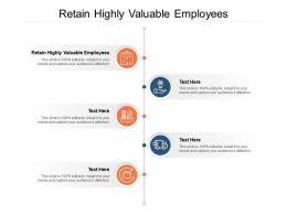 Retain Highly Valuable Employees Ppt Powerpoint Presentation Template Cpb