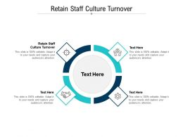 Retain Staff Culture Turnover Ppt Powerpoint Presentation Show Picture Cpb