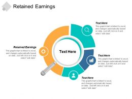 Retained Earnings Ppt Powerpoint Presentation Gallery Clipart Images Cpb
