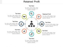 Retained Profit Ppt Powerpoint Presentation Icon Guidelines Cpb
