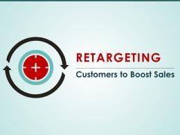 Retargeting Customers To Boost Sales Powerpoint Presentation Slides