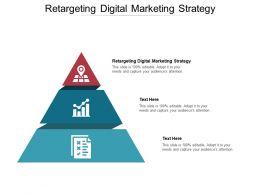 Retargeting Digital Marketing Strategy Ppt Powerpoint Presentation Portfolio Model Cpb