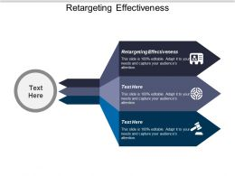 Retargeting Effectiveness Ppt Powerpoint Presentation Infographics Samples Cpb