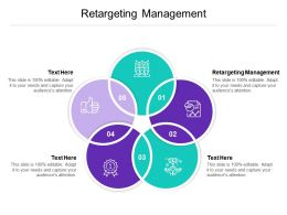 Retargeting Management Ppt Powerpoint Presentation Outline Shapes Cpb