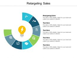 Retargeting Sales Ppt Powerpoint Presentation Slides Show Cpb