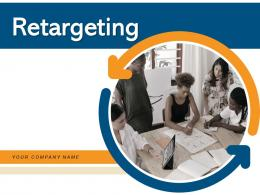 Retargeting Strategies Techniques Dashboard References Gear Process Arrows