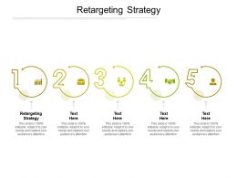 Retargeting Strategy Ppt Powerpoint Presentation Inspiration Introduction Cpb