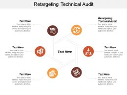 Retargeting Technical Audit Ppt Powerpoint Presentation Infographics Example Cpb