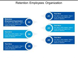 Retention Employees Organization Ppt Powerpoint Presentation Icon Show Cpb