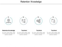 Retention Knowledge Ppt Powerpoint Presentation Infographic Template Example Topics Cpb
