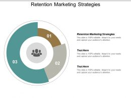 Retention Marketing Strategies Ppt Powerpoint Presentation Professional Guide Cpb