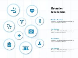 Retention Mechanism Ppt Powerpoint Presentation Show Samples