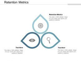 Retention Metrics Ppt Powerpoint Presentation Show Gridlines Cpb