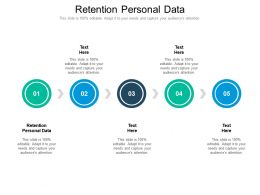 Retention Personal Data Ppt Powerpoint Presentation Infographics Slide Cpb